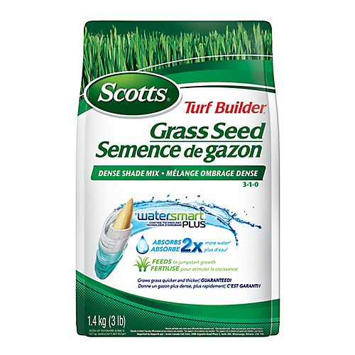 Turf Builder Grass Seed Dense Shade 3-1-0 - 1.4 kg