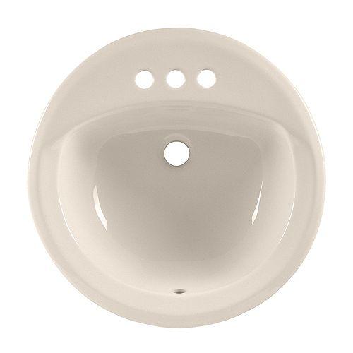 American Standard Rondalyn - Lavabo circulaire à auto-enroulement pour salle de bains en lin