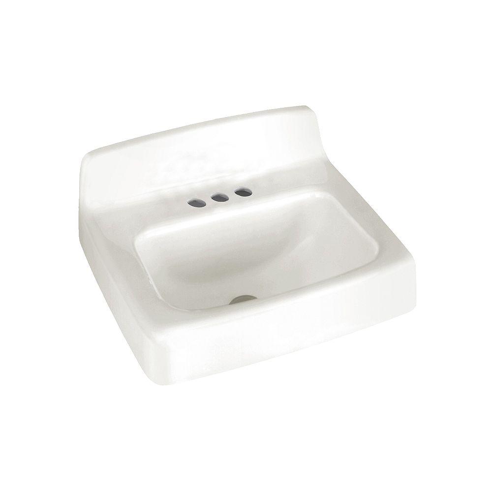 American Standard Évier de salle de bains mural Regalyn en blanc