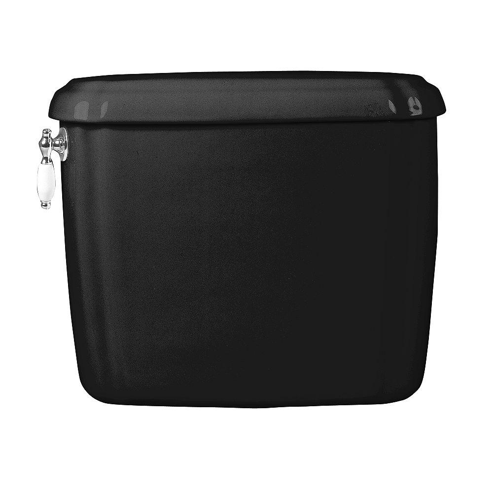 American Standard Antiquité 1.6 GPF Réservoir de toilette à chasse unique uniquement en noir