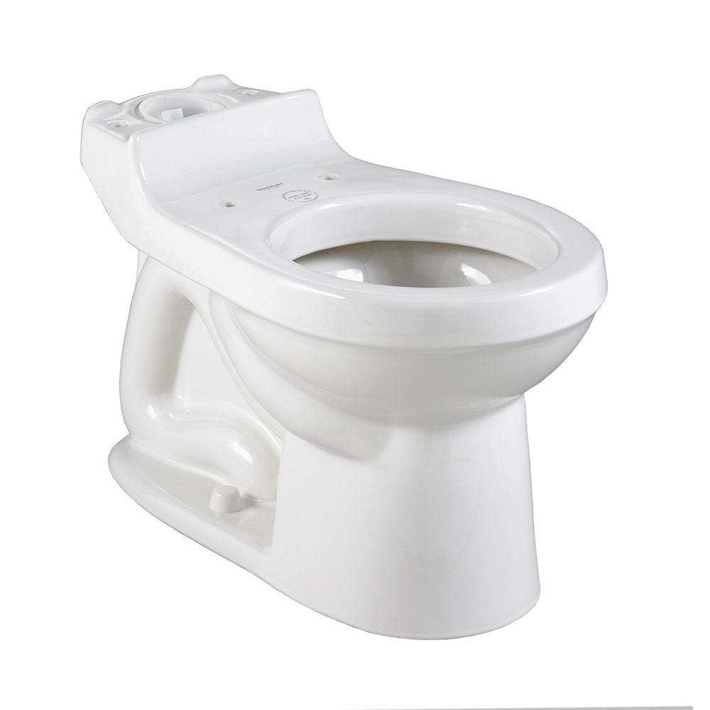 American Standard Champion 4 Round Front Seatless Toilet Bowl Only in White