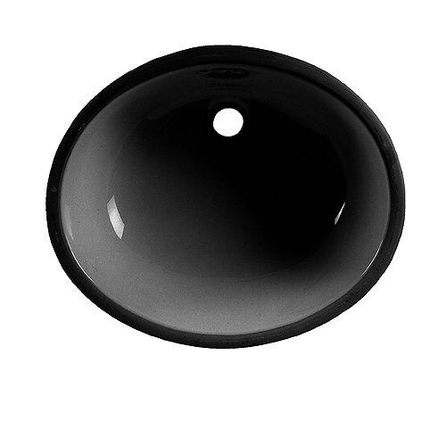 American Standard Lavabo de salle de bain Ovalyn en noir