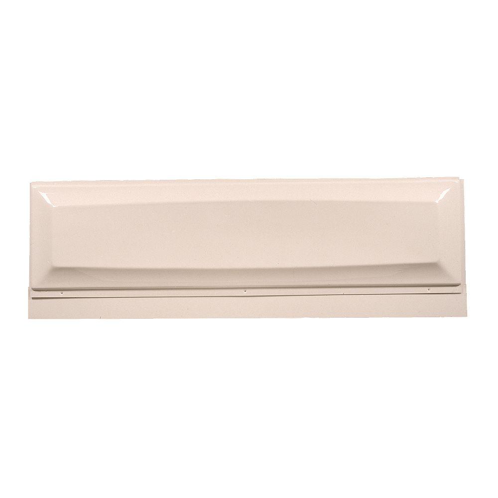 American Standard Tablier acrylique amovible rectangulaire en os de 6 pieds de long