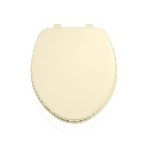American Standard Siège de toilette rond en os, fermé à l'avant