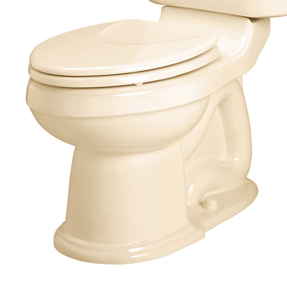 American Standard Oakmont Champion Round Toilet Bowl Only in Bone