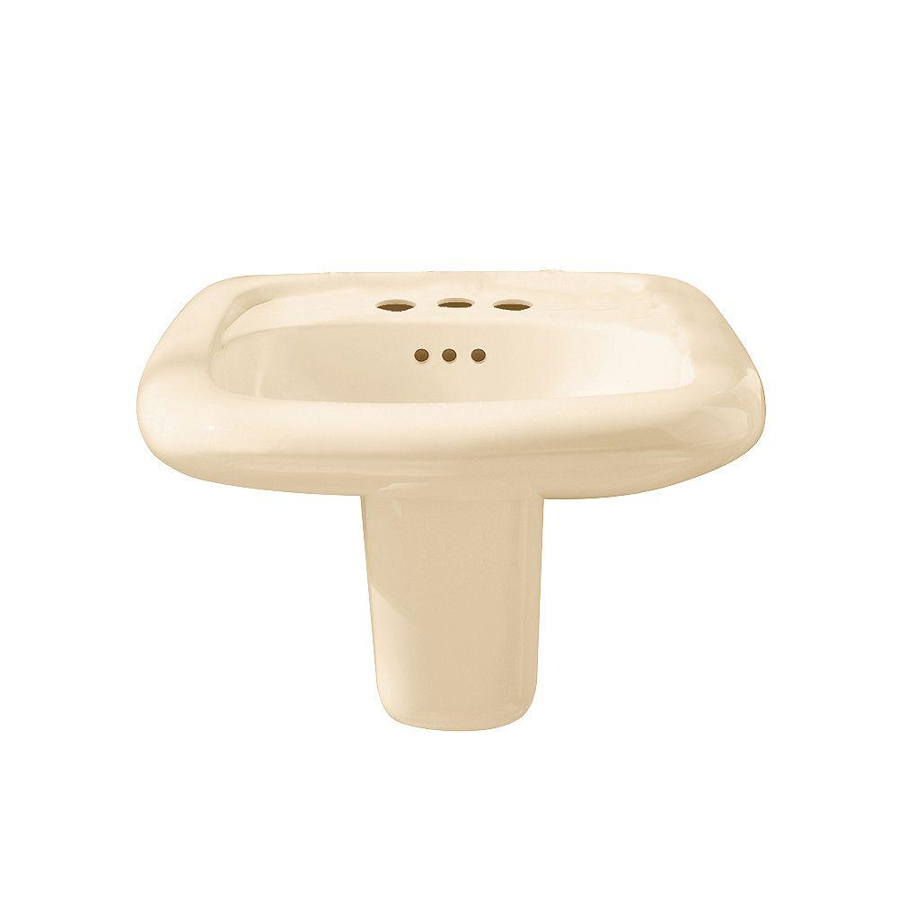 American Standard Murro : évier de salle de bains rectangulaire en os