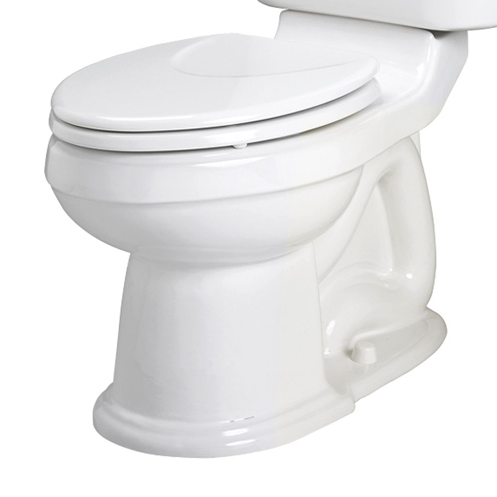 American Standard Oakmont Champion Round Toilet Bowl Only in White