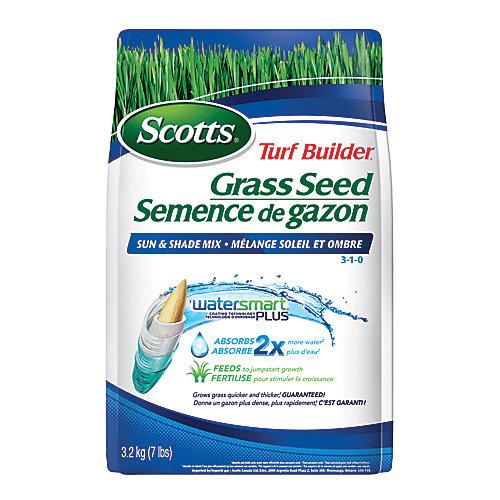 Turf Builder Grass Seed Sun & Shade Mix 3-1-0 - 3.2.kg