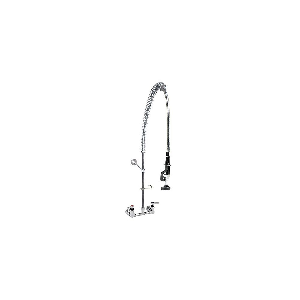 Encore Standard Pre-Rinse Wall Mount Faucet with Wall Bracket
