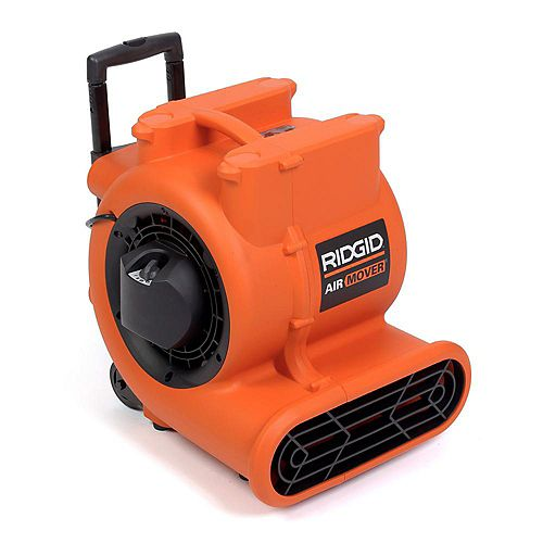 Air Mover 1625 CFM Portable Floor Dryer & Blower Fan with Wheels & Retractable Handle