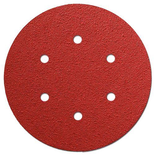 Diablo 6-inch Coarse Finish 60 Grit PSA Random Orbital Sand Paper (ROS) Disc for Wood/Metal/Plastic Sanding (10 Pack)