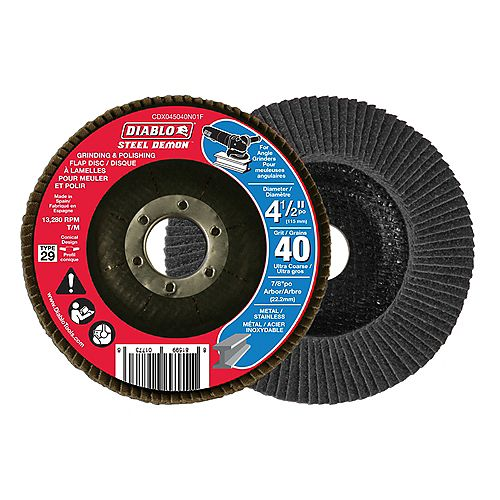 Steel Demon Grinding and Polishing Flap Disc