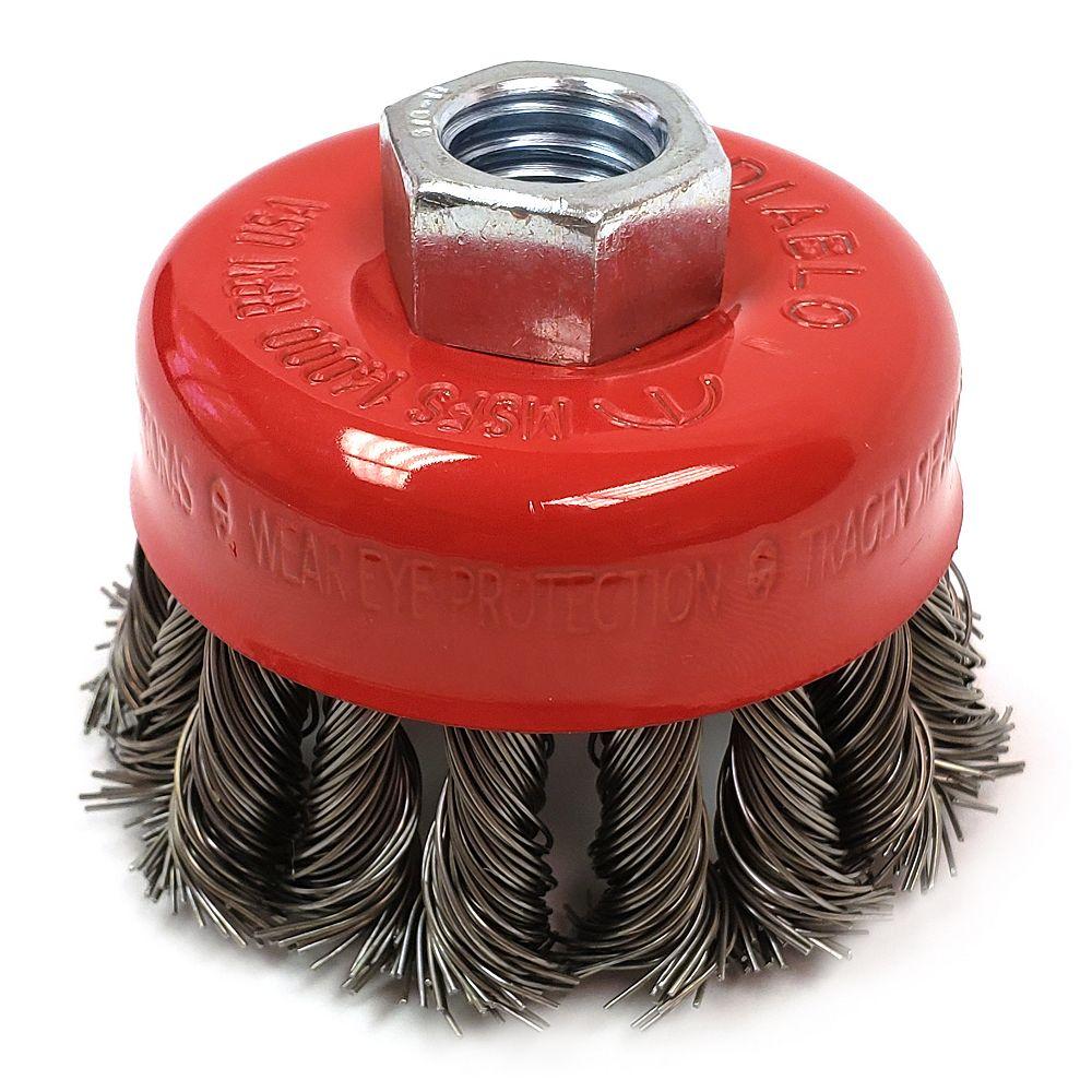 Diablo Knot Cup Brush 2-3/4 Carbon