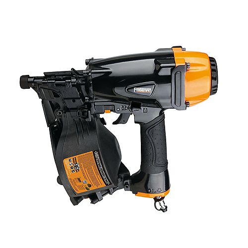 Pneumatic 1-1/4-inch x 2-1/2-inch 15-Degree Coil Siding Nailer