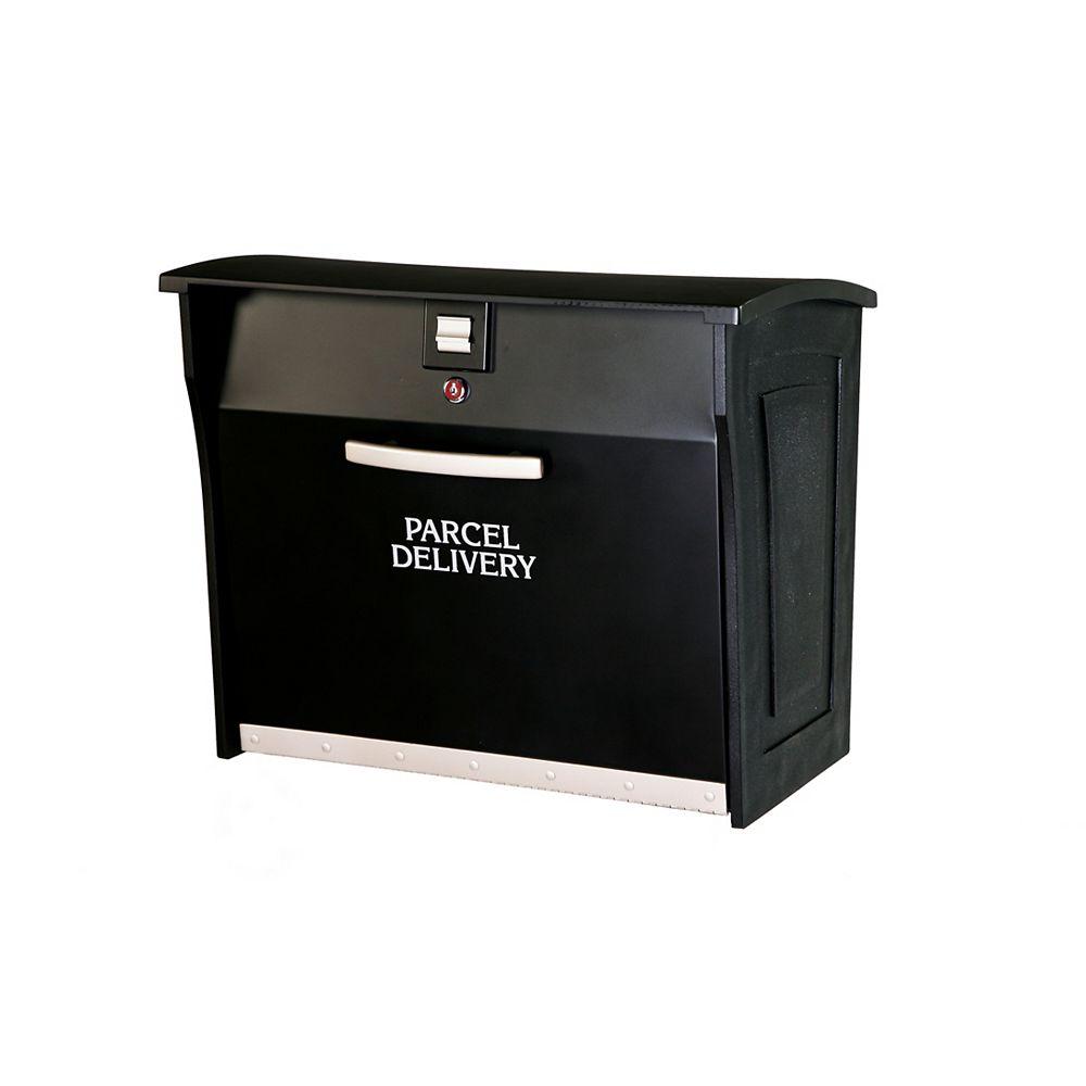 Gorilla Box Livraison Boîte de Colis avec Verrouillage - Noir
