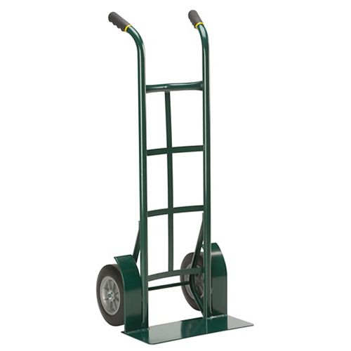 Super Steel Flat-Free 1000 Pound Capacity Twin Handle Hand Truck