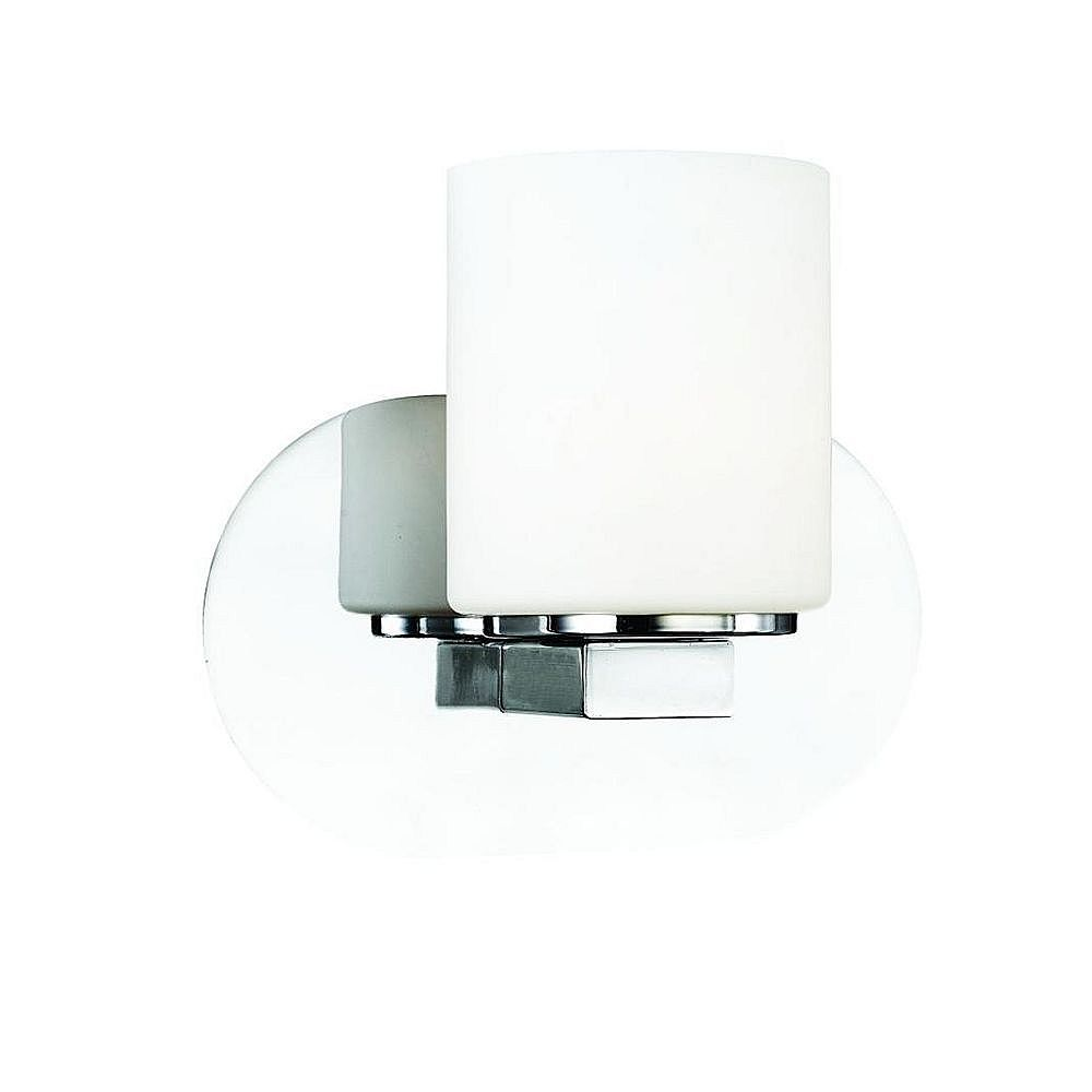 Eurofase Evry Collection 1-Light Chrome Wall Sconce
