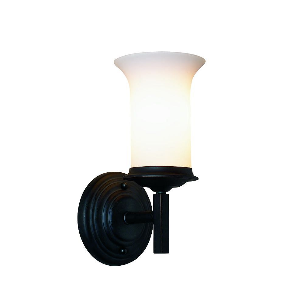 Eurofase Foxboro Collection 1-Light Oil-Rubbed Bronze Wall Sconce