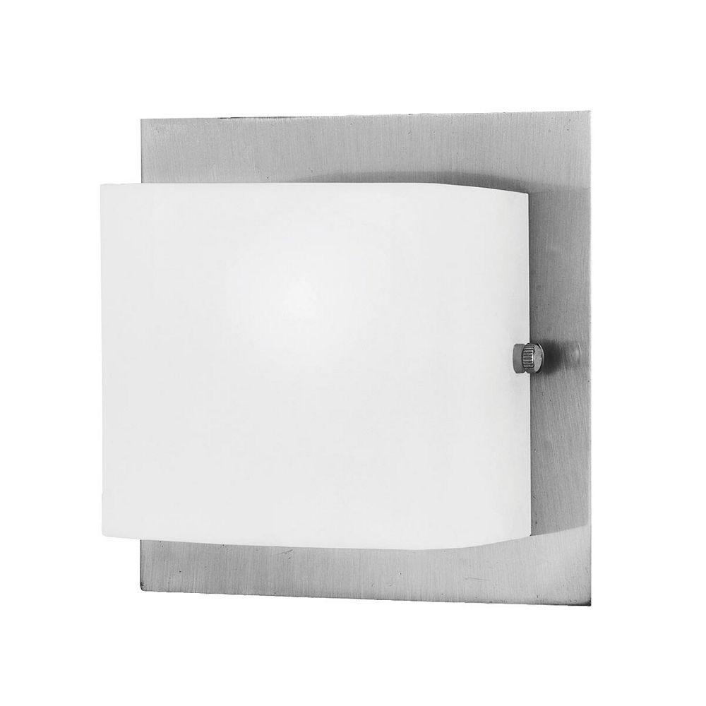 Eurofase Applique de la collection Talo à 1 ampoule, nickel satiné