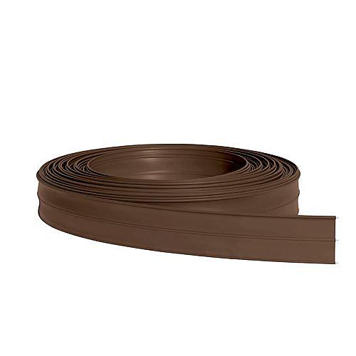 Ruban brun de clôture pour chevaux 5 pouces x 330 pieds