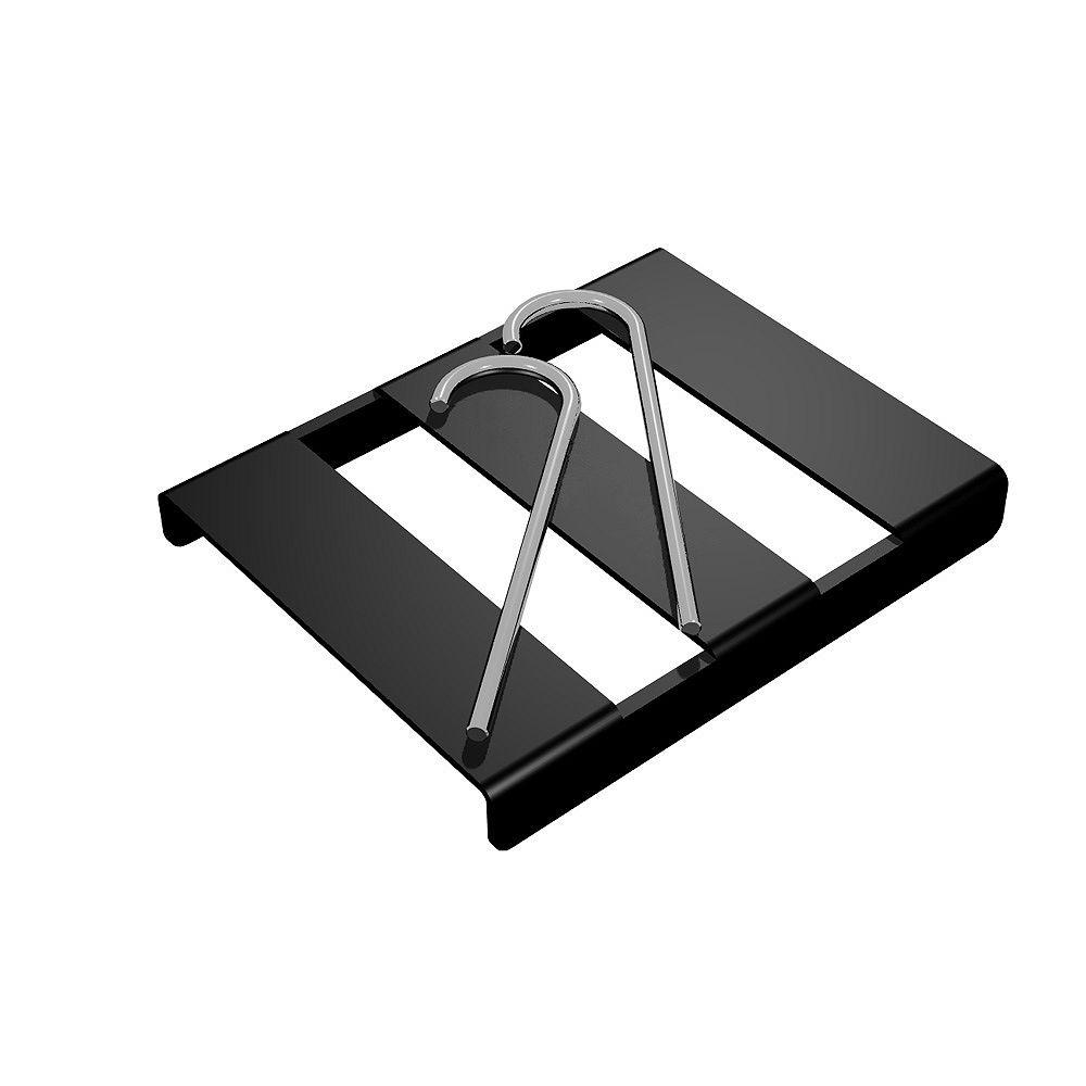 Cenflex Black Splice Buckle