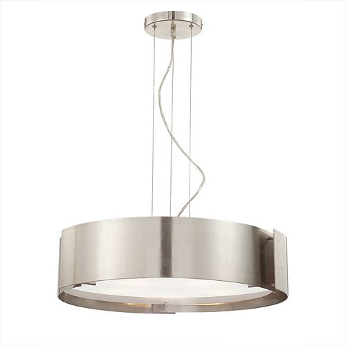 Eurofase Dervish Collection 5-Light Satin-Nickel Large Pendant