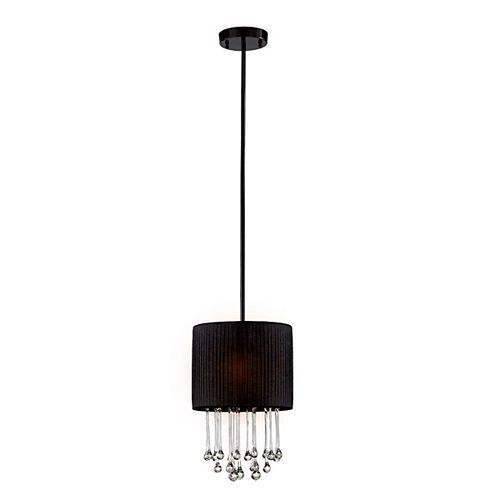 Eurofase Penchant Collection 1-Light Black Large Pendant