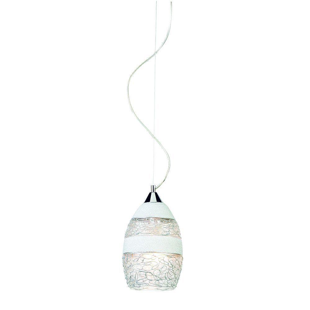 Eurofase Shayna Collection 1-Light Chrome Mini Pendant