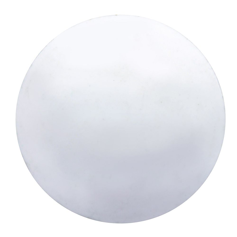 Paulin 1/2-inch Plastic Hole Cover White