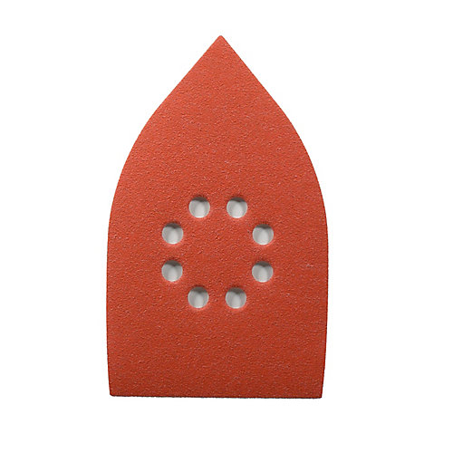 Feuille abrasif triangulaires  4-3/16x6-3/4 MegaMouse Grains 80