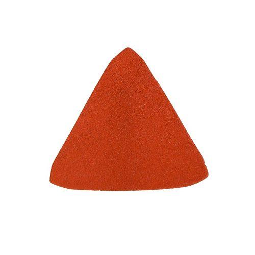 2 7/8-inch x 2 7/8-inch Medium Finish 100 Grit PSA Corner Cat/Mouse Sand Paper for Wood/Metal/Plastic Sanding (10 Pack)