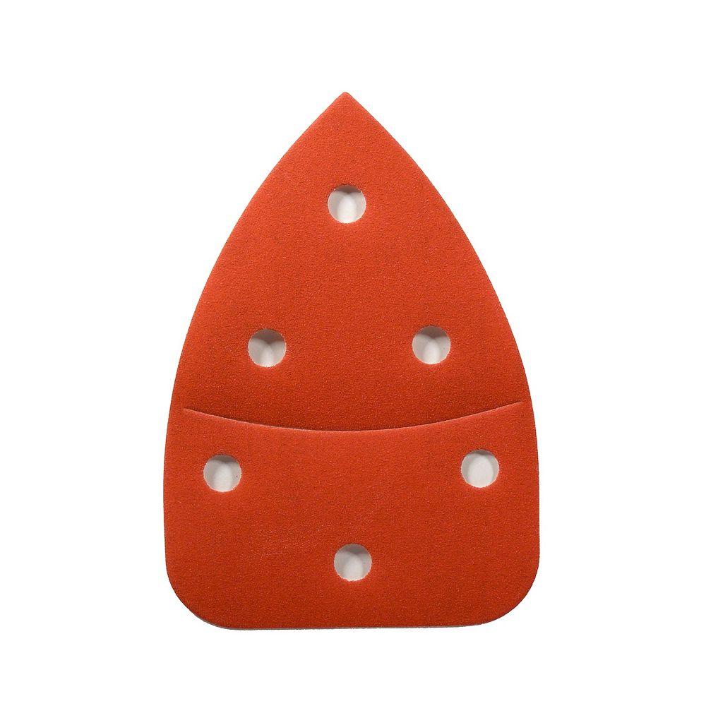Diablo Feuille abasif triangulaire 3-7/8x5-1/2 CAT/Mouse Grains 220