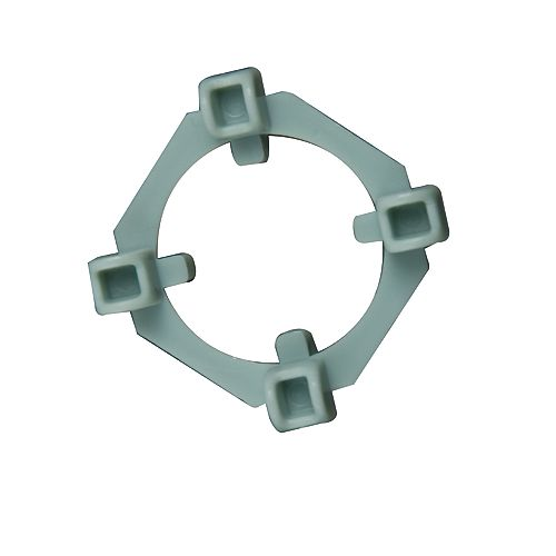 QEP Clear View 2-In-1 Tile Spacers, 1/8 And 1/4 Inch., 100 Spacer And 50 Wing Pack