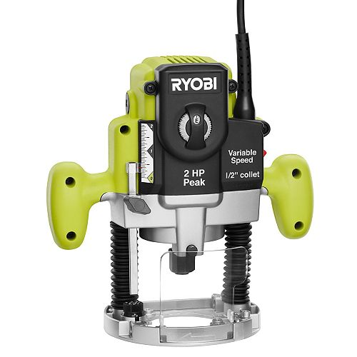 2 HP 10-Amp Plunge Base Router