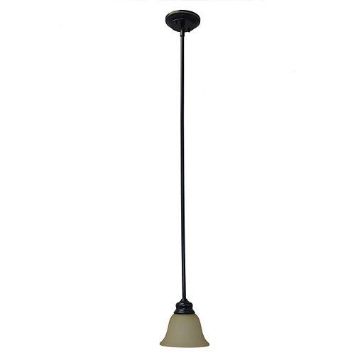 15,88cm luminaire suspendu, fini bronze oxydé