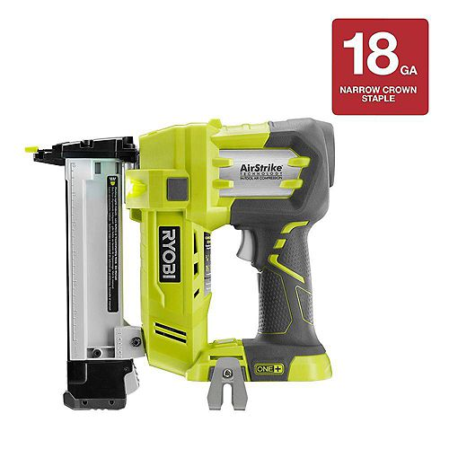 18V ONE+ AirStrike 18-Gauge Cordless Narrow Crown Stapler (Tool-Only)