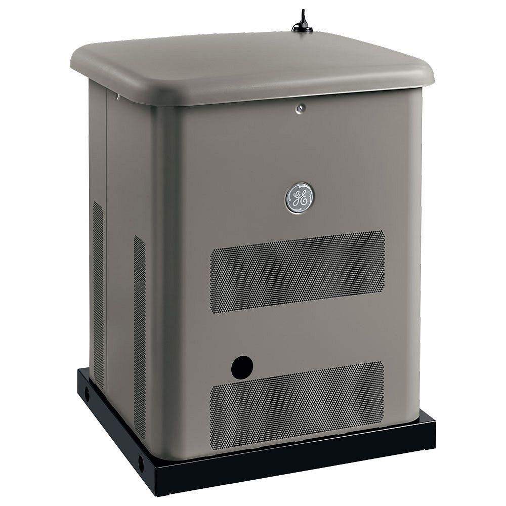GE Système Nerator de 10 000 watts avec commutateur de transfert de 200 ampères Symphony Ii Whole House pour toute la maison