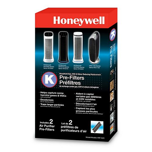 Household Odor & Gas Reducing Pre-Filter (2-Pack)