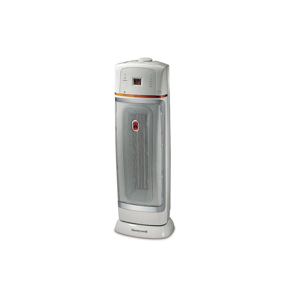 Honeywell Electronic Ceramic Tower Heater Gray