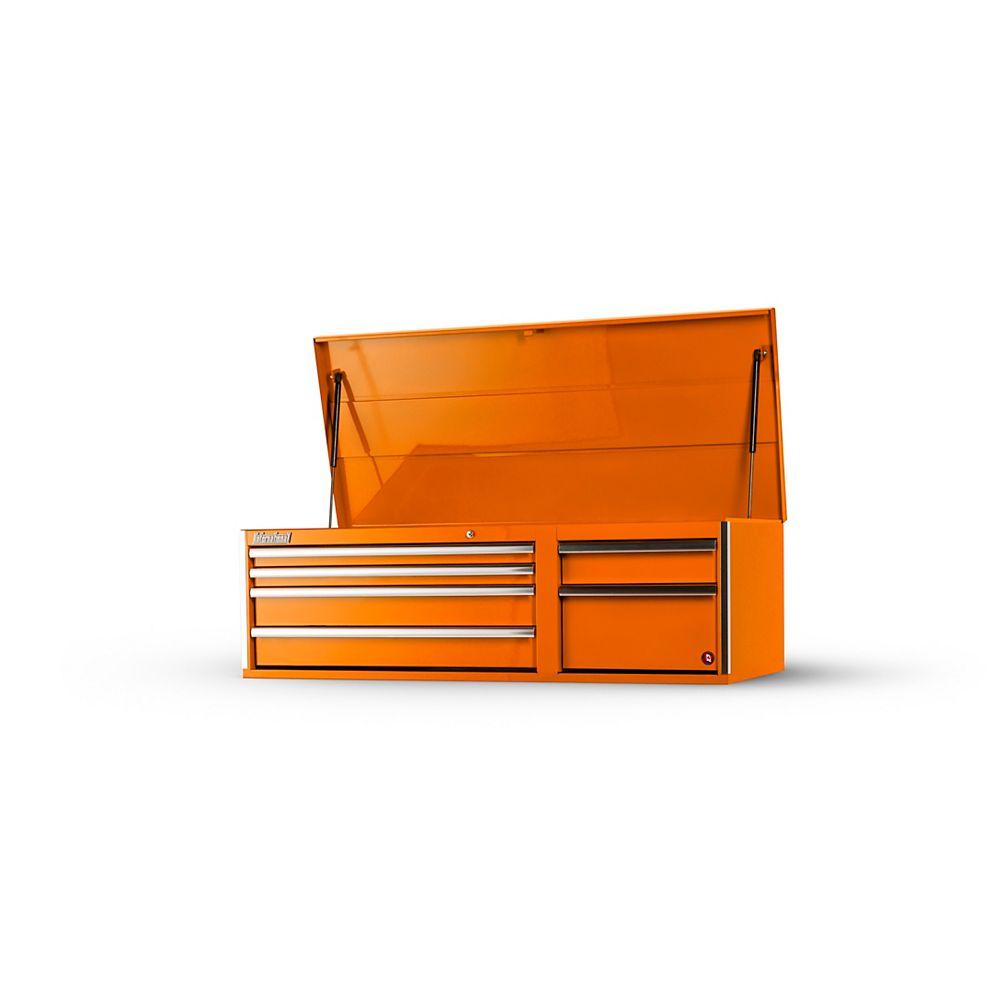 "International Coffre 56"" à 6 tiroirs, Orange"