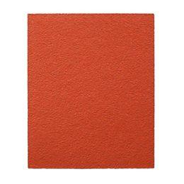 Feuille de papier abrasif PSA à grain grossier 80 pour le ponçage du bois/métal/plastique (12 pouces x 18 pouces)