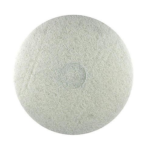 Tampon de polissage 17 po blanc