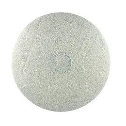 17-inch Random Orbital Sander (ROS) White Buffer Pad for Wood Polishing