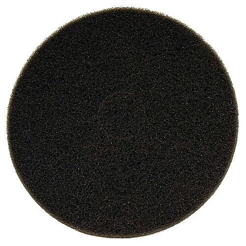 Tampon de polissage 12po x 18po noir
