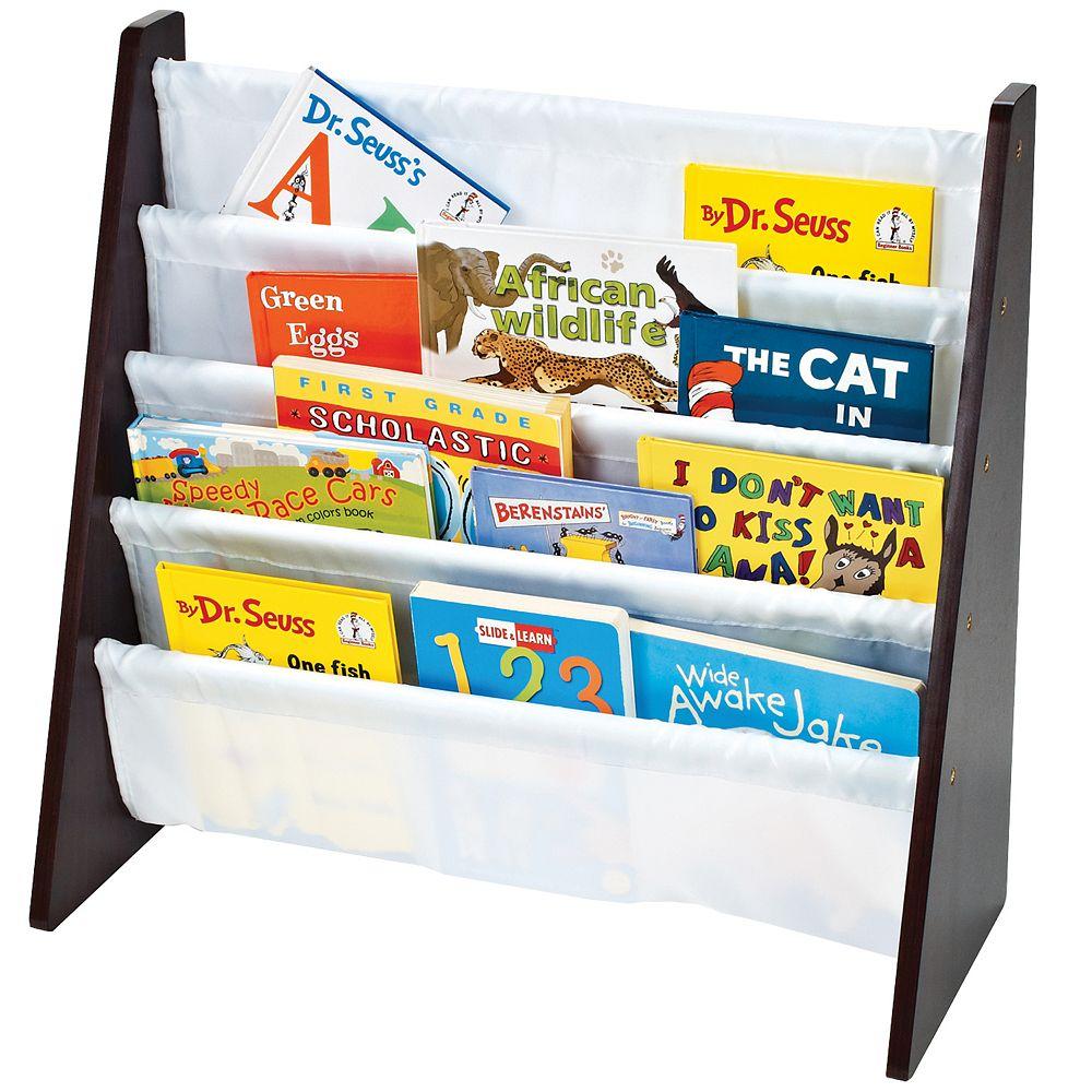 Tot Tutors 4-Shelf Solid Wood Bookcase