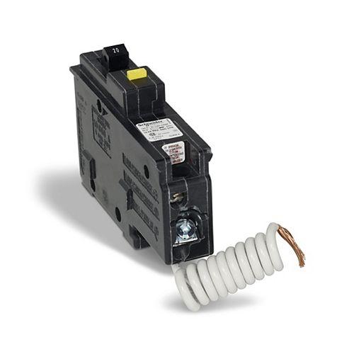 HomeLine Single Pole 20 Amp HomeLine GFCI Plug-On Circuit Breaker