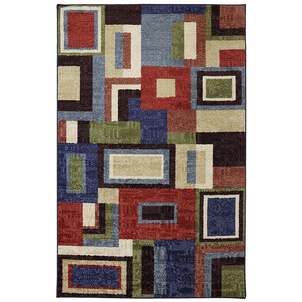 Mohawk Home Carpette, 5 pi x 8 pi, rectangulaire, multicolore