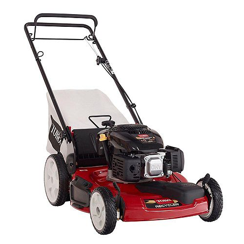 Recycler 22-inch Gas Self-Propelled Lawn Mower with High Wheels