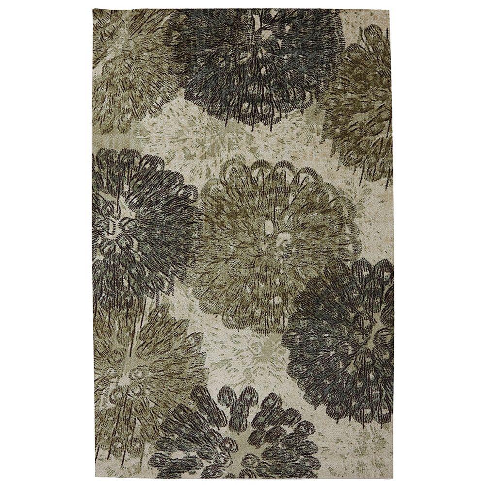 Mohawk Home Carpette, 8 pi x 10 pi, rectangulaire, gris poppy