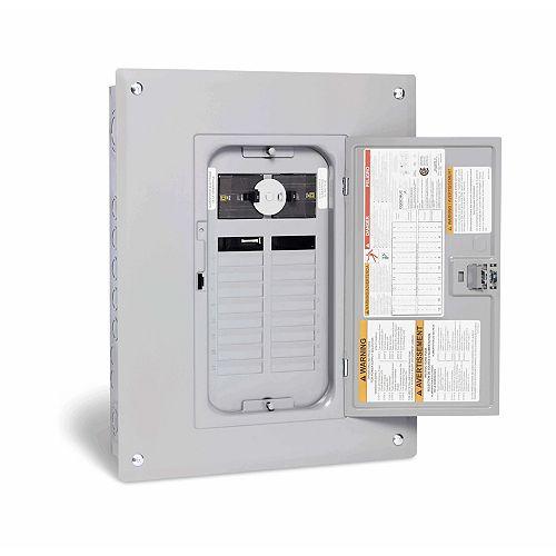 Panneau de générateur Square D de 60A avec un maximum de 18 espaces et 36 circuits